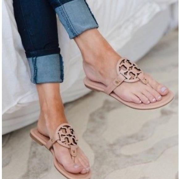 09ca938c8b3a56 Tory Burch Miller sandals. M 5ac70b5d72ea88c75508dce9